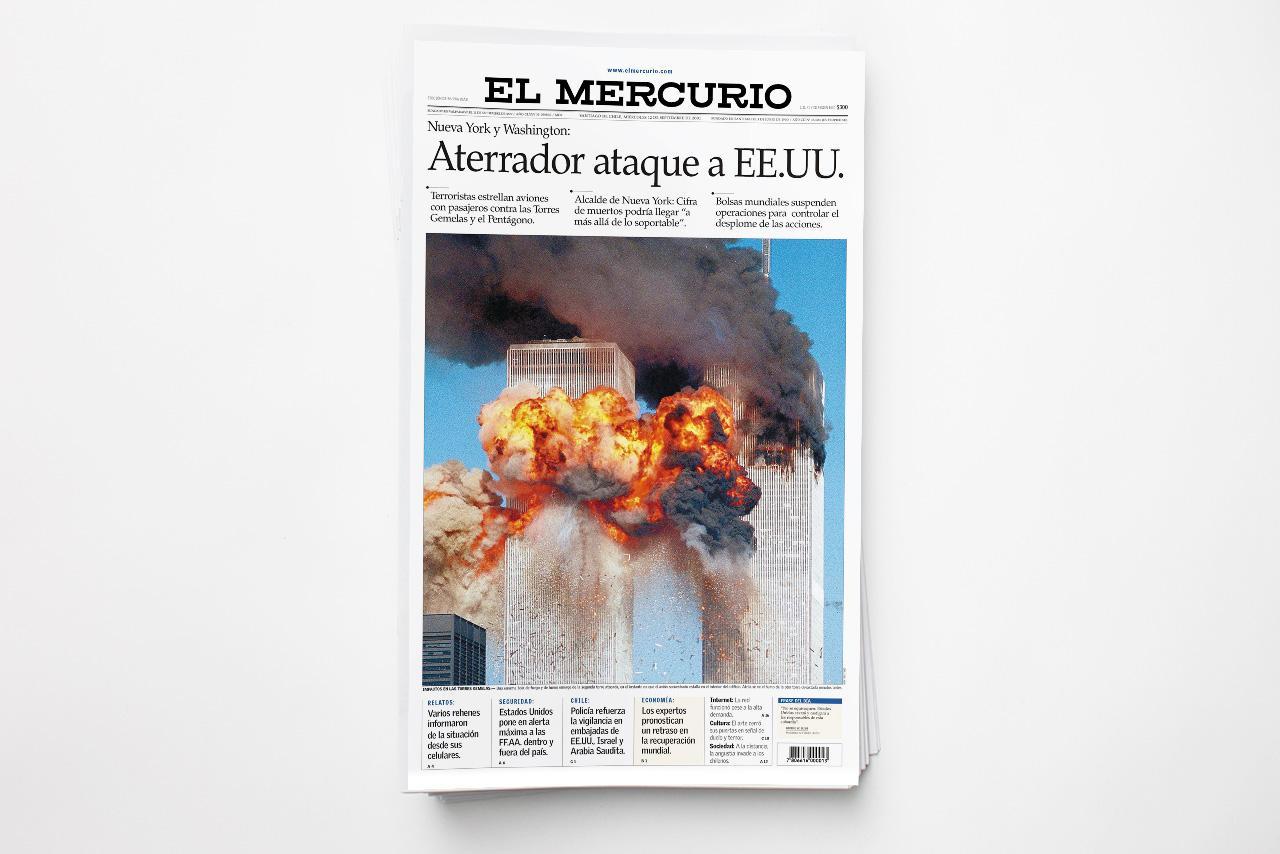 Rediseño | El Mercurio 2001