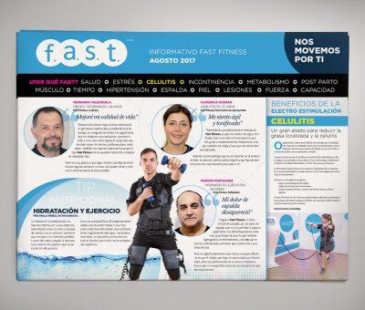 Diario Mural Fast Fitness