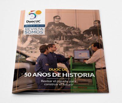 Revista Somos Duoc UC 50 años